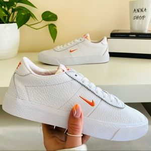 New Nike SB zoom Bruin leather white shoes